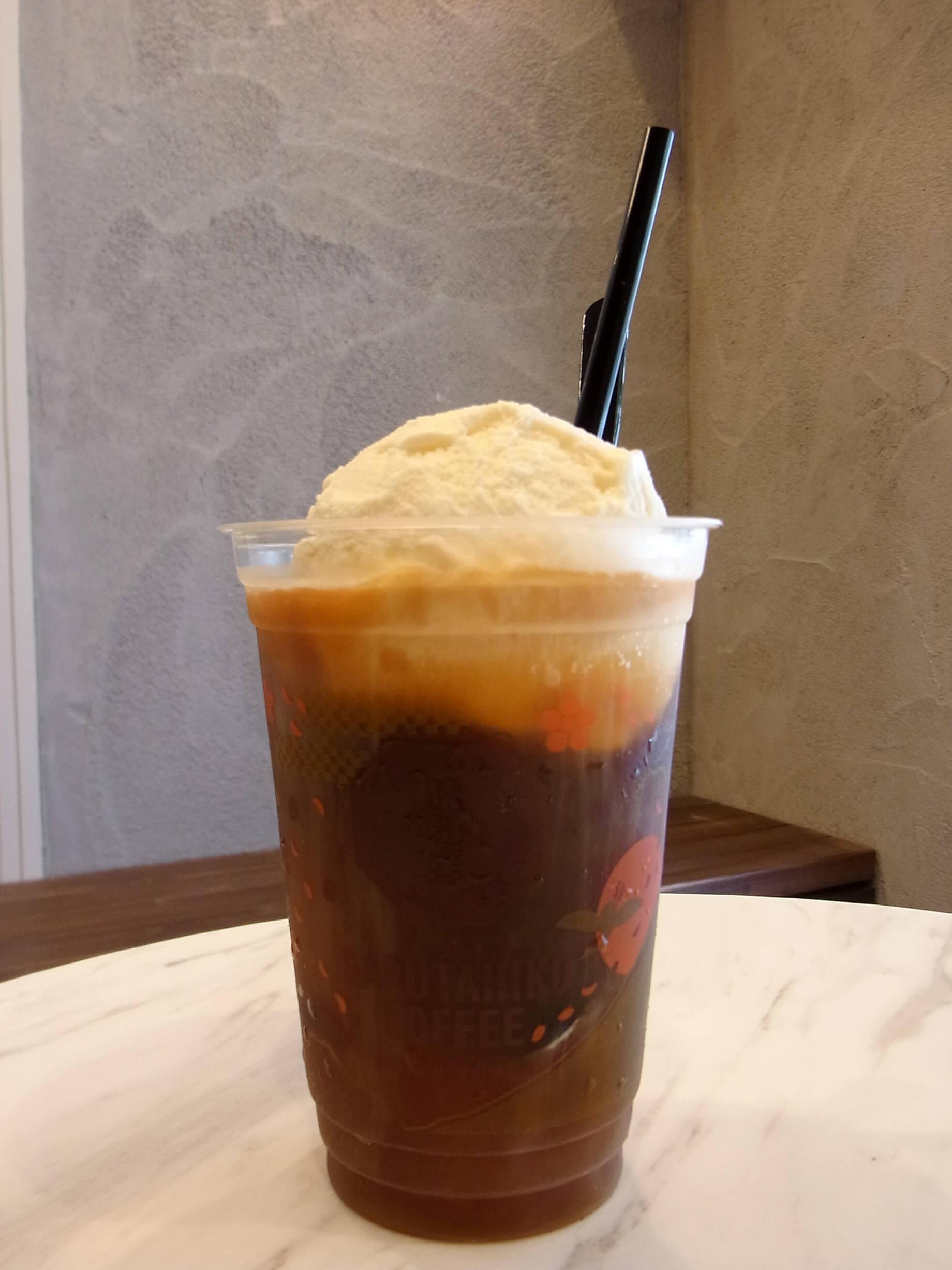 コーヒーフロート 580円(税別)