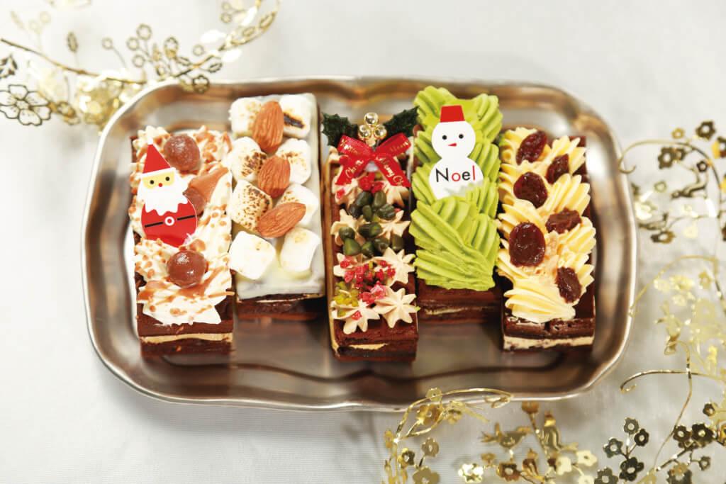 クリスマスブラウニーワッフル(5個入り)/ワッフル・ケーキの店エール・エル