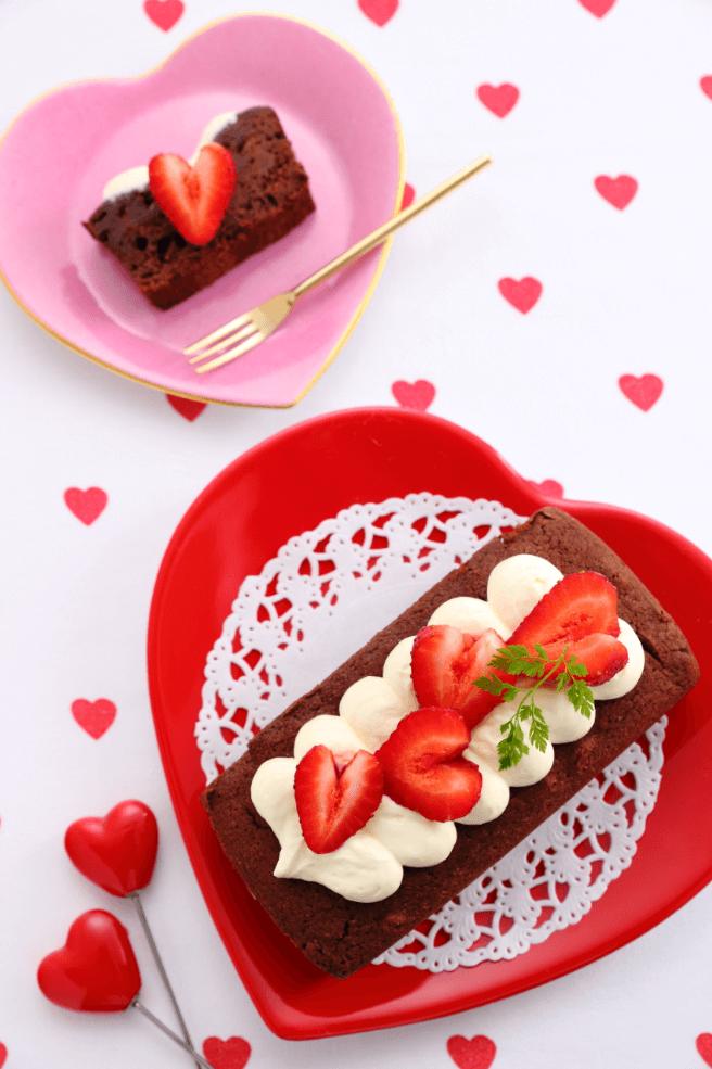 「ハートいちごのチョコケーキ」1,500円(税込)