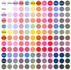 2色のミックス例
