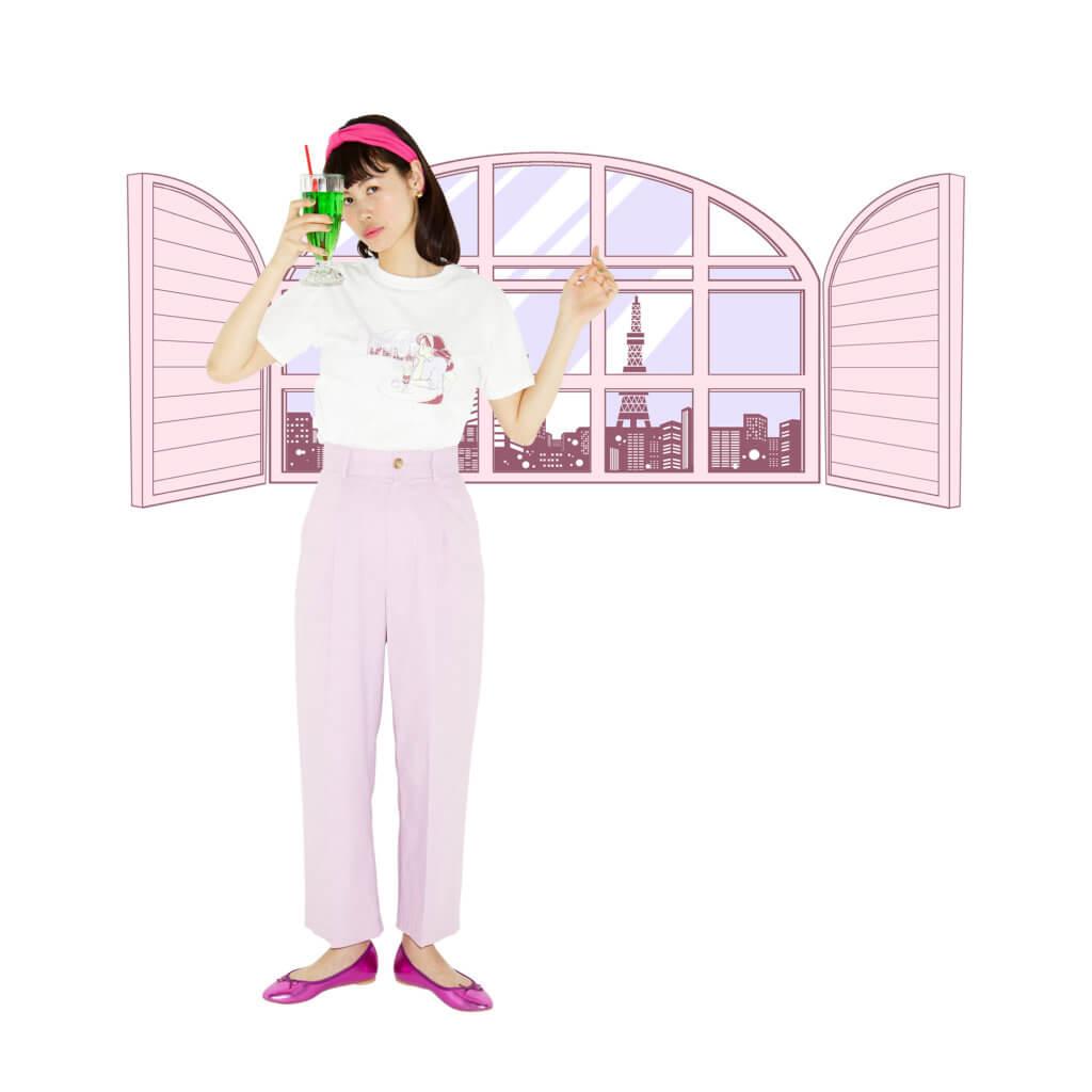 80s風のイラストが可愛い ローリーズファームボブ Aka えんちゃん