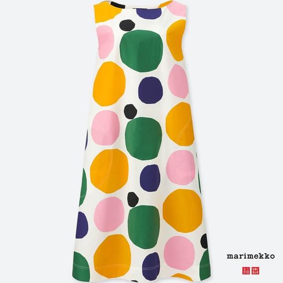 Marimekkoグラフィックワンピース(ノースリーブ)+E 3,990円(税別)