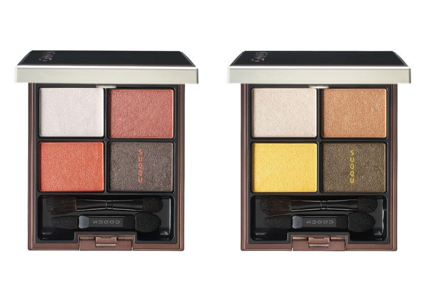 左から 「SUQQU デザイニング カラー アイズ 118、119」 限定色2種 各6,800円(税別)