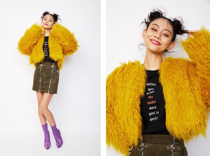 衣装協力:EVRIS モデル:小林サラ /メイク:風間義則 @Juice /ヘア:Ken Yoshimura @AVGVST