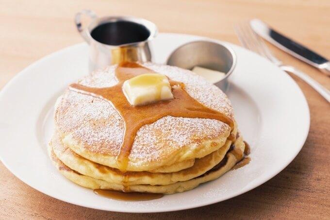 「バターミルクパンケーキ」(税別1,280円)