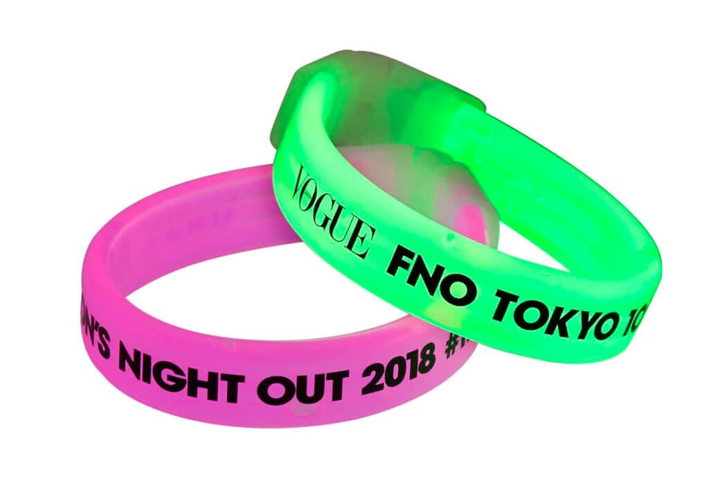 FNOオリジナル ライトバングルセット ¥500(税込)