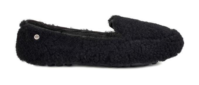 「Hailey Fluff Loafer」ブラック19000円(税別)