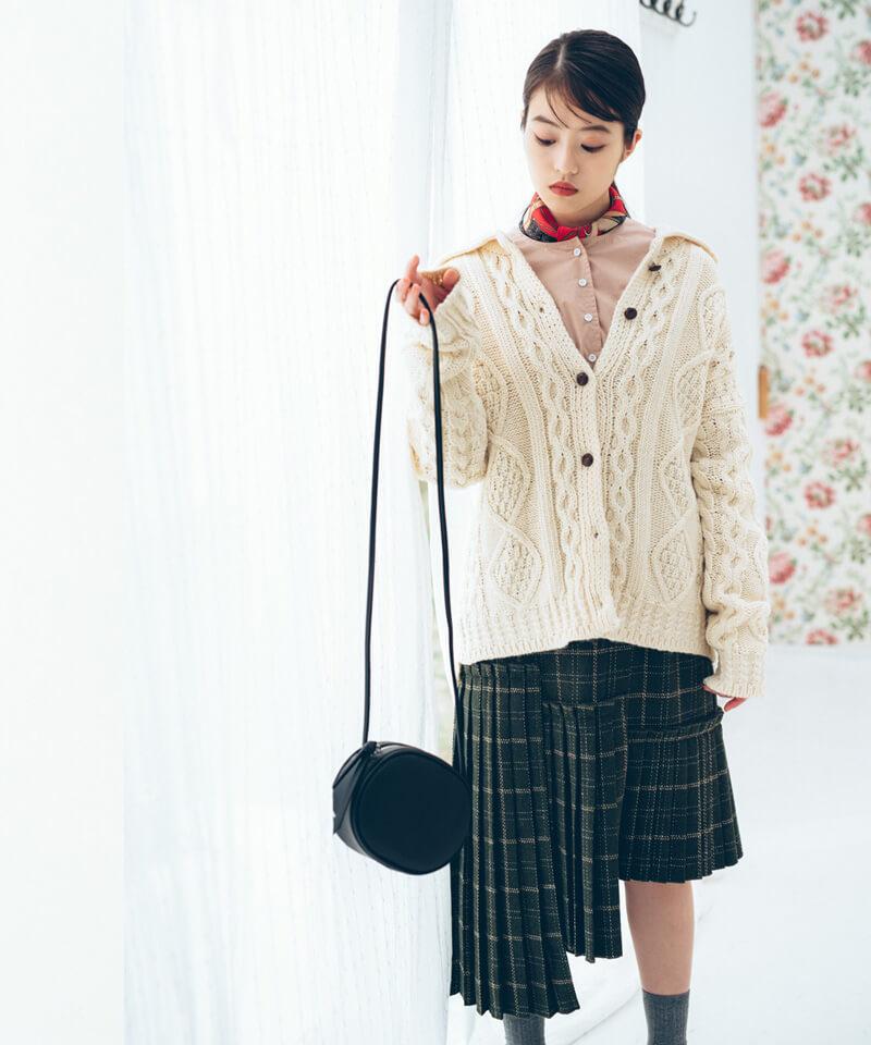 「今田美桜さんコラボ パネルプリーツスカート」¥5,900(税別)