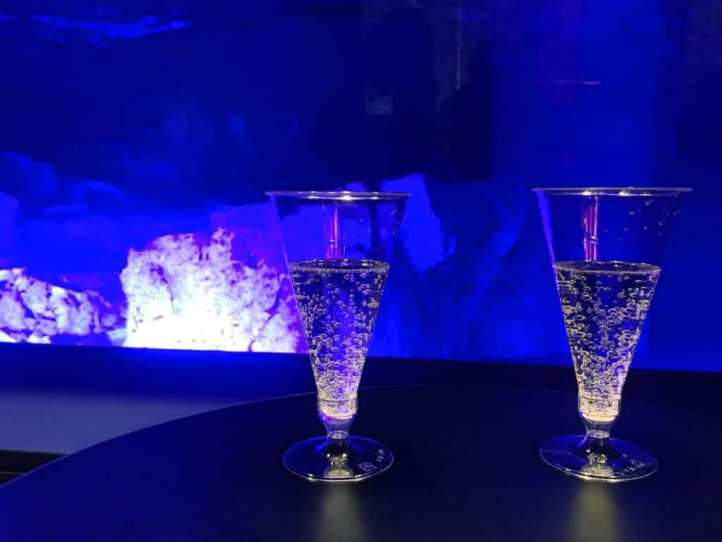 スパークリングワイン1杯無料プレゼント ※先着50名 ※1名につき1杯まで ※アルコール飲料です