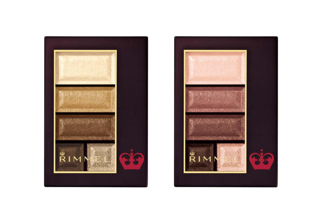 「ショコラスウィート アイズ 」4.5g 5色×2セット 1,600円(税抜) 4/5(金)発売 左から)017、018