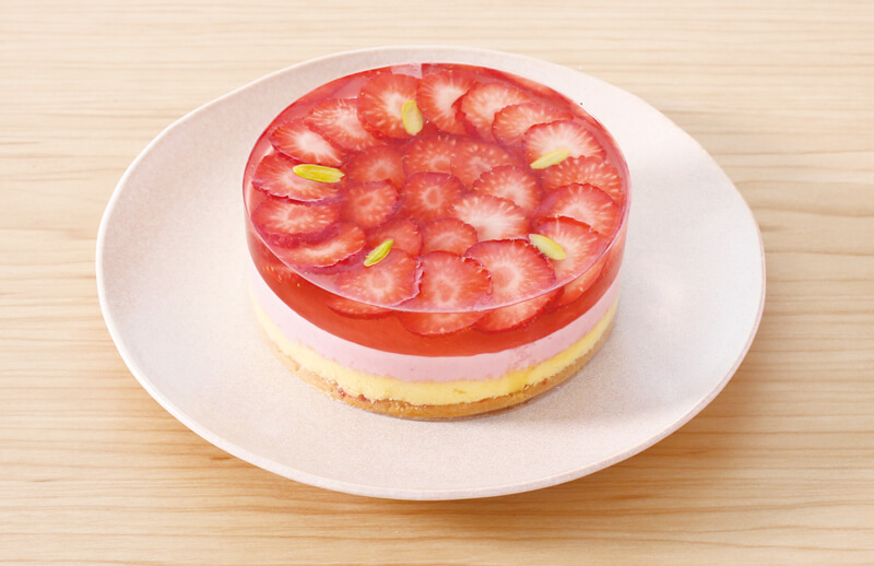 「春摘み苺−紅ほっぺ苺のケーキ−」1,500円(税込)