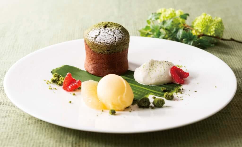 「モワルーショコラ 抹茶仕立て」 1,512円(税込)