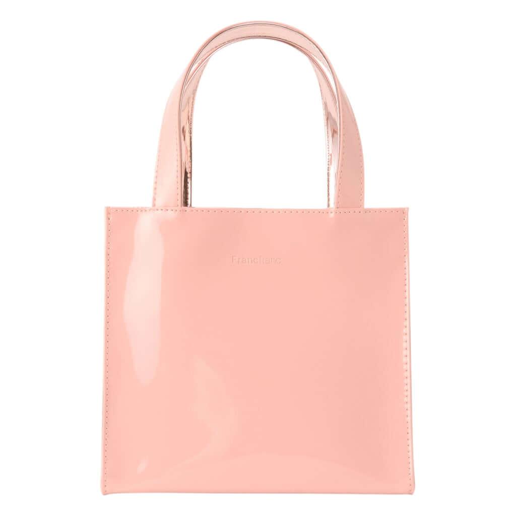 「エナメルバッグ」ピンク 2,800円(税込)