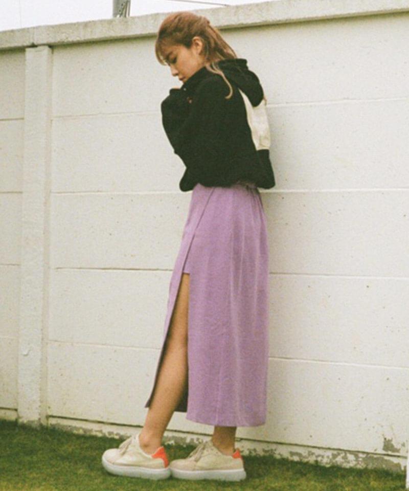 「スリットラップスカート」 7,452円(税込)