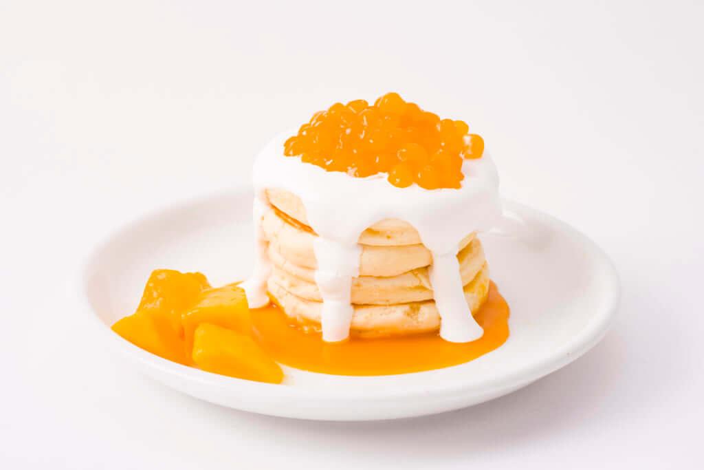 「タピオカパンケーキ」マンゴー 980円(税別)