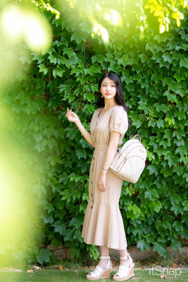 モデル・鈴木志歩サン/22歳(163cm)