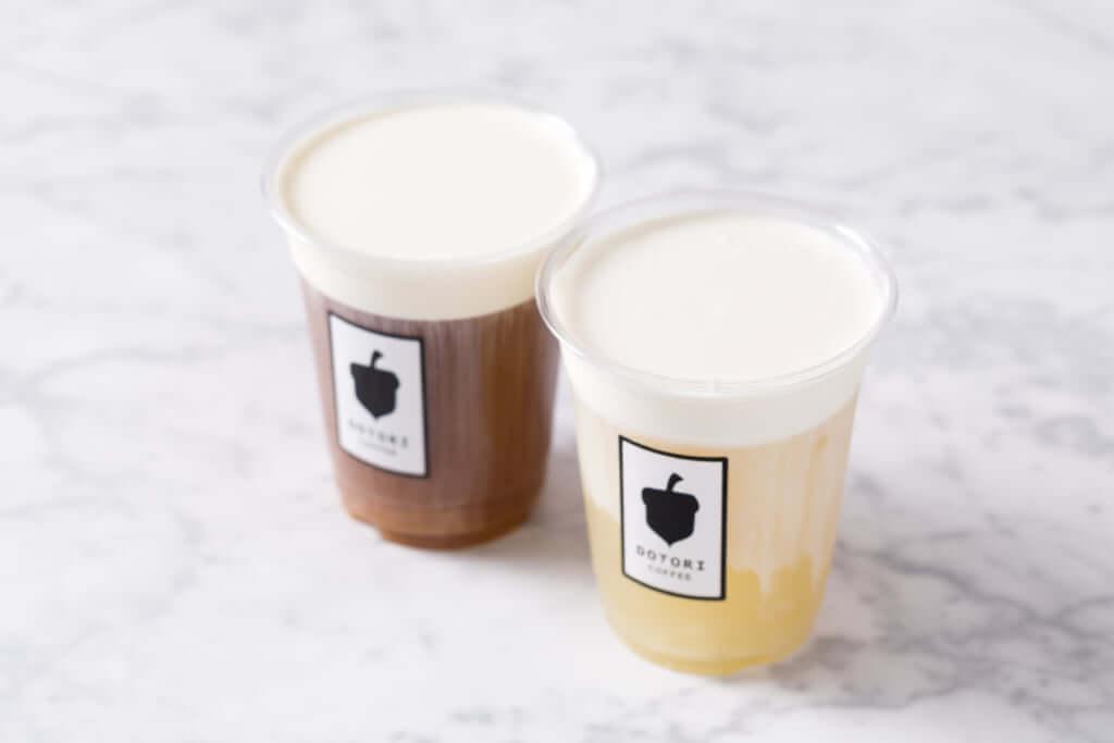 「チーズティー」450円(税抜) ※紅茶ブレンド/緑茶ブレンド