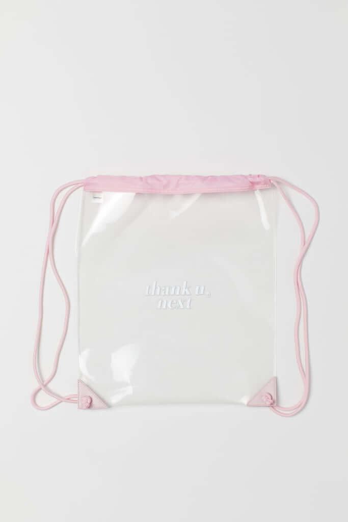 「トランスペアレントジムバッグ」1,499円(税込)※オンラインストア限定商品