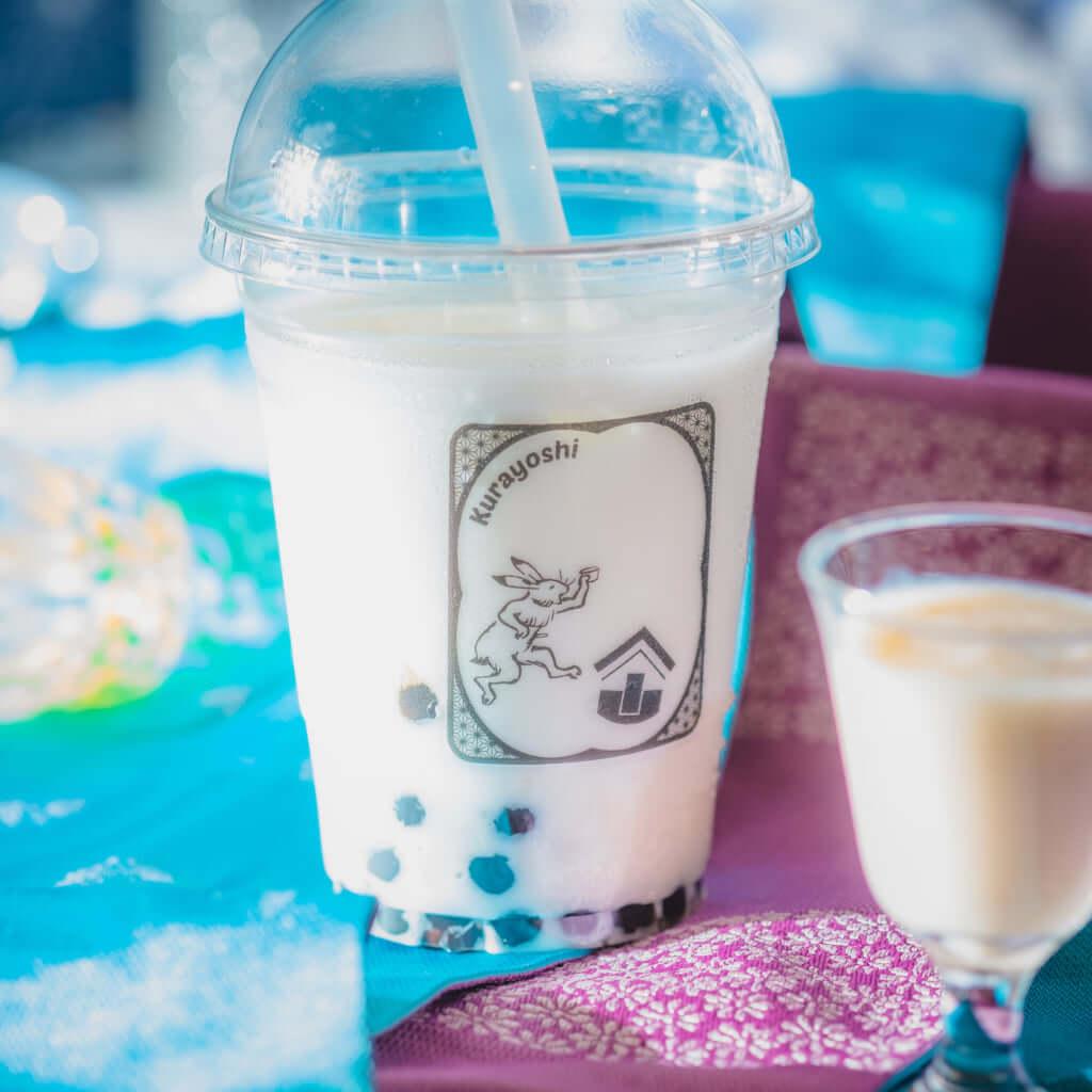 「甘酒タピオカミルク」600円(税込)