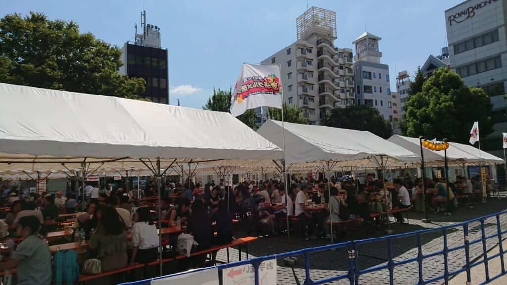 初開催の名古屋でも連日大行列!