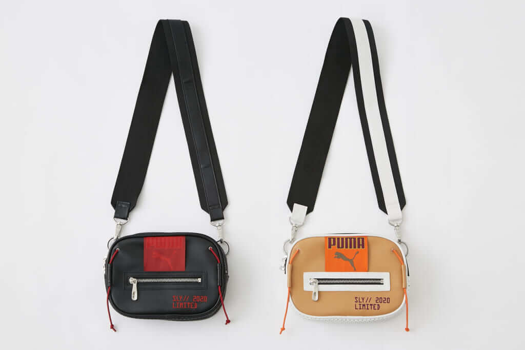 「PUMA x SLY BAG」BLACK、BEIGE 各6,990円(税別)