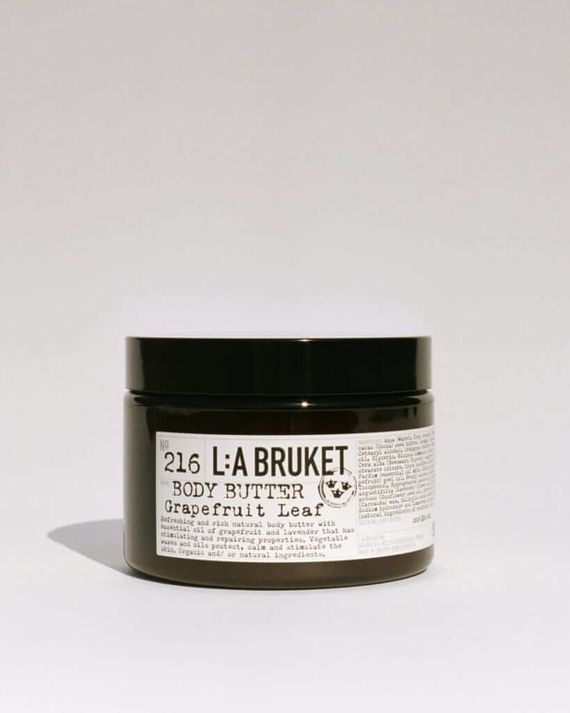 「ラ・ブルケット(L:a Bruket)」No, 216 BODY BUTTER GRAPEFRUIT LEAF 350g / ¥6,700+tax