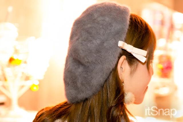 ファーベレー帽 約¥3,000