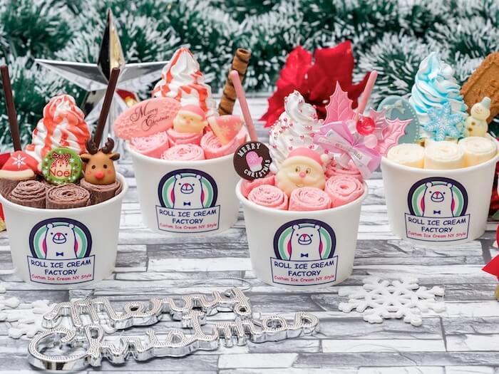 ROLL ICE CREAM FACTORY(ロールアイスクリームファクトリー)クリスマス限定ロール