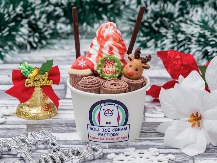 ROLL ICE CREAM FACTORY(ロールアイスクリームファクトリー)トナカイくんのクリスマス ¥1,050(税抜)