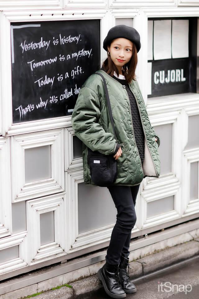 モデル、フリーメイクアーティスト・小八重実咲サン/24歳(153cm)