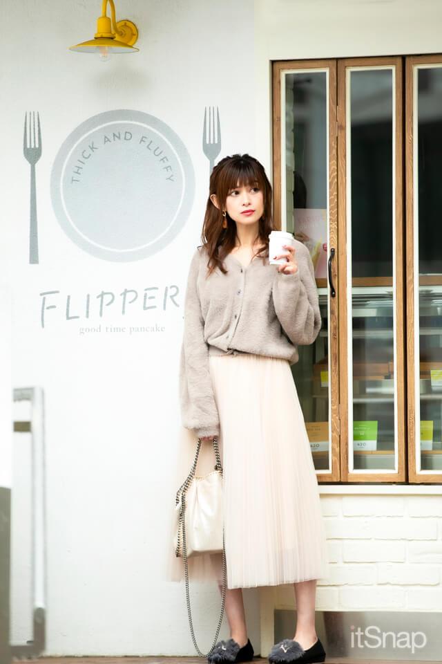 モデル、シンガー・東紗枝サン/36歳(163cm)