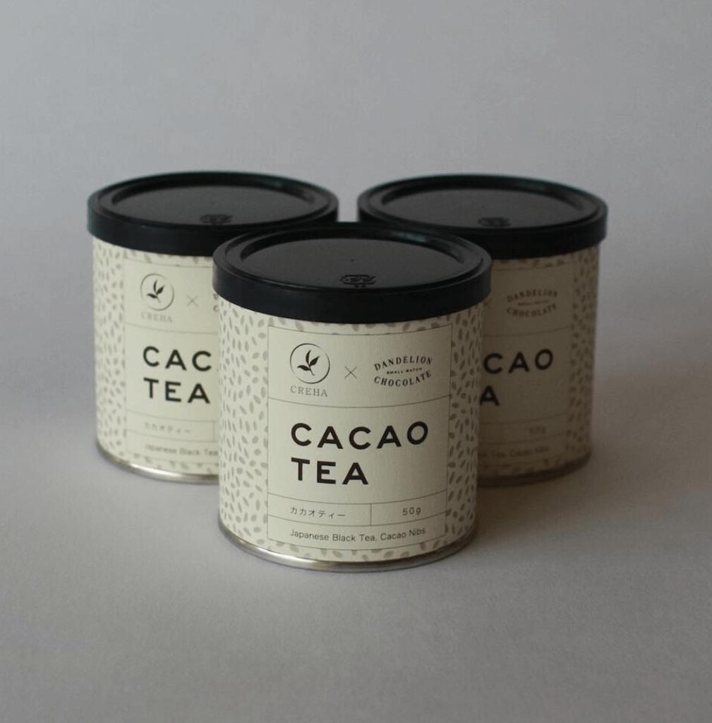 ダンデライオンチョコレートのカカオティー/¥1,080(税込)