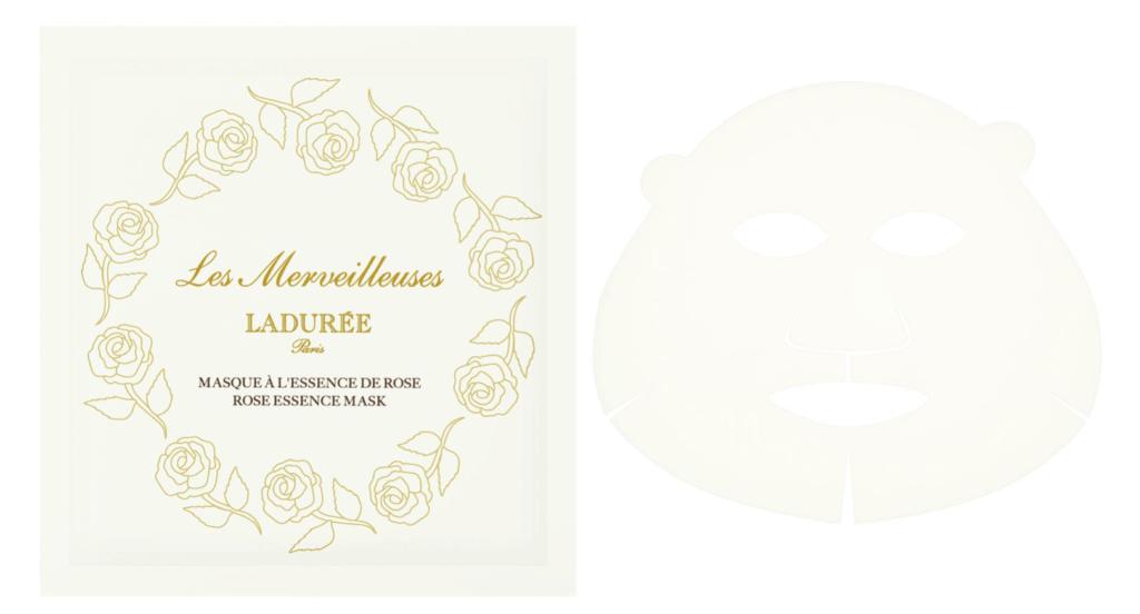 Les Merveilleuses LADURÉE(レ・メルヴェイユーズ ラデュレ)のローズ エッセンス マスク(5枚入り) ¥4,000(税抜)