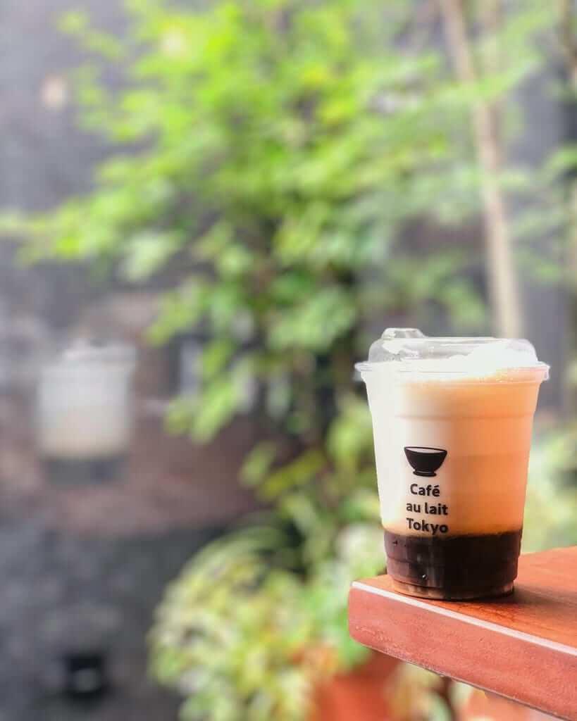 アイスカフェオレ/¥520(税抜き)