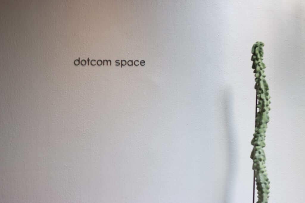 dotcom space Tokyo(ドットコムスペーストーキョー)の入り口