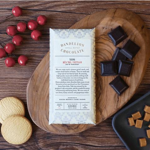 ダンデライオンチョコレートのチョコレートバー