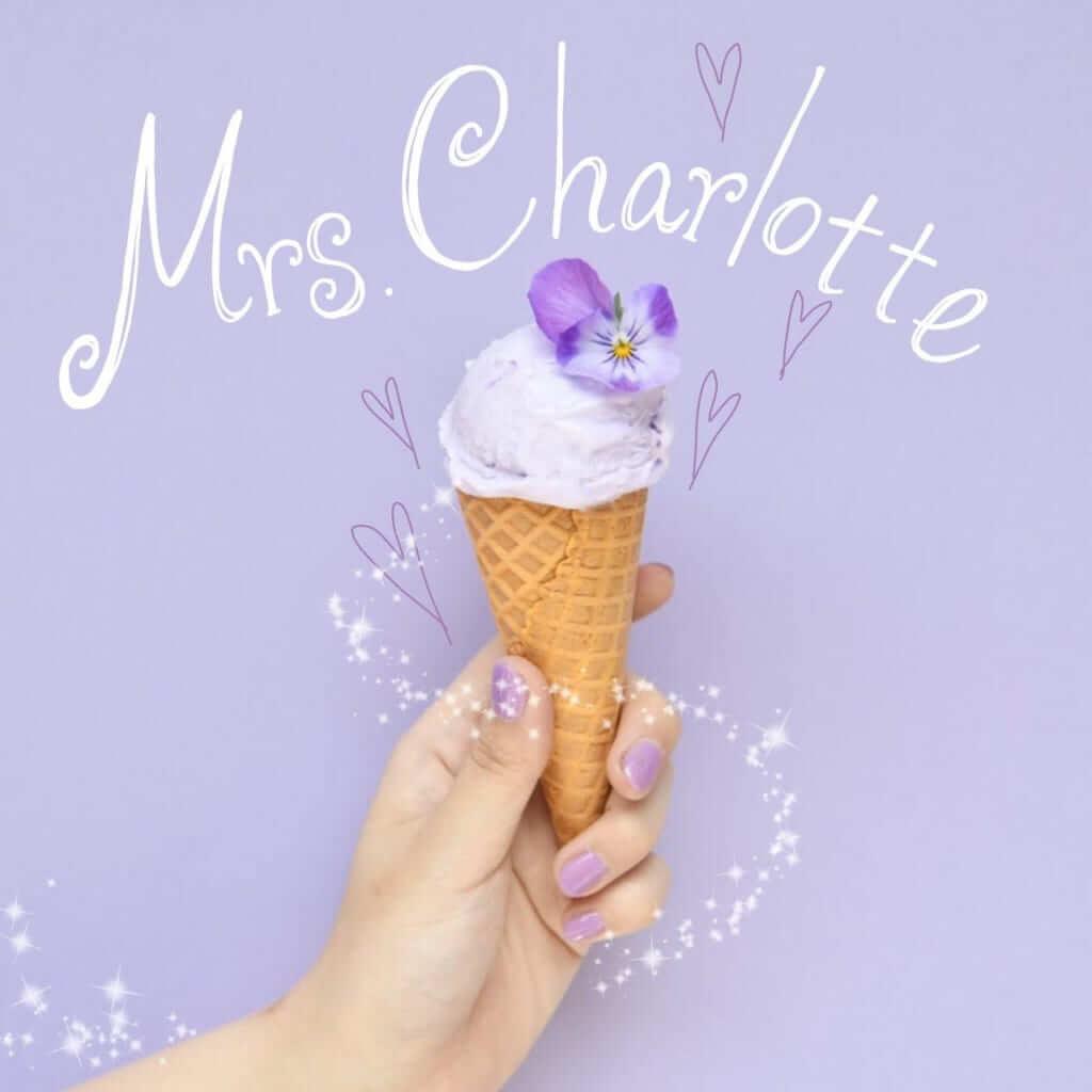 Mrs.Charlotte(ミセスシャーロット)のラベンダーミルク/¥580(税込)