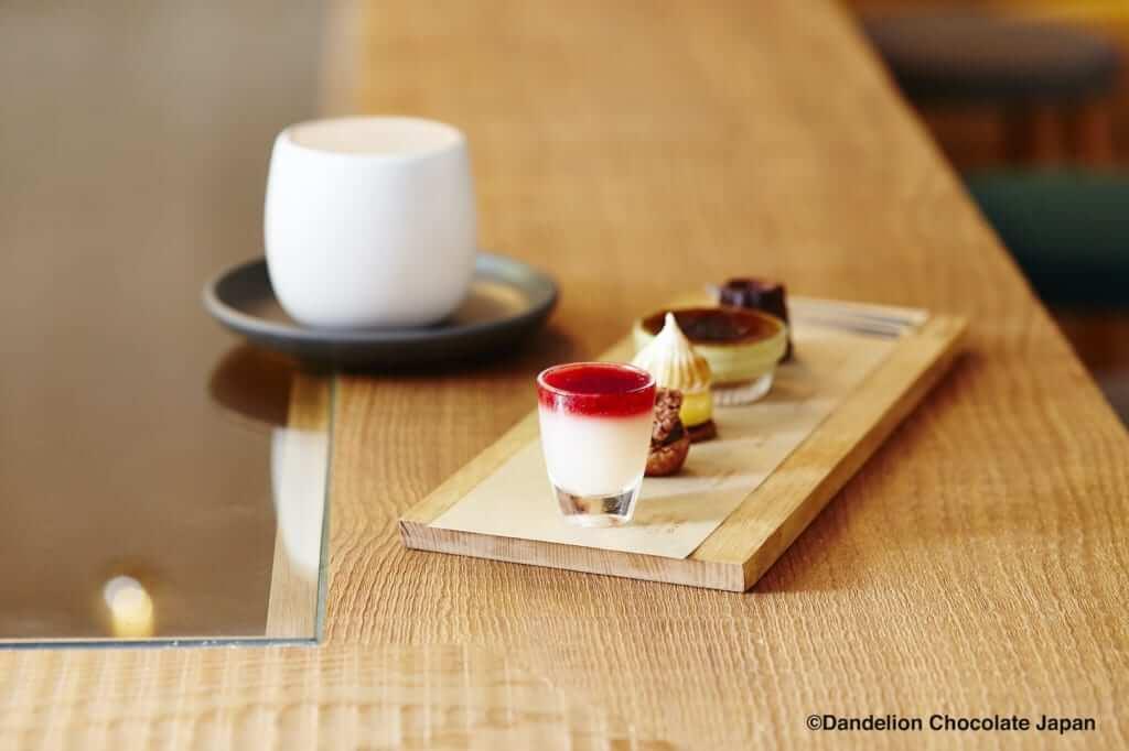 ダンデライオンチョコレートのCHEF'S TASTING(シェフズテイスティング)[限定30食]/¥1,450