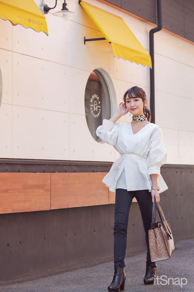 龍谷大学三回生・安原舞サン/22歳(155cm)
