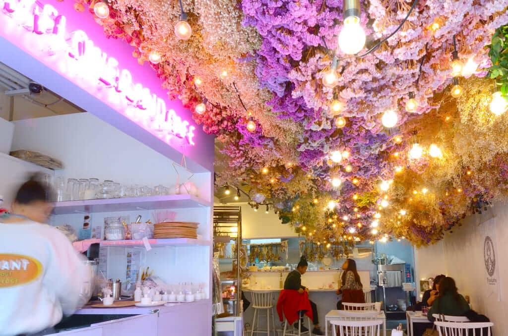 大阪・中崎町のドライフラワーカフェのPicco Latte(ピッコ ラッテ)