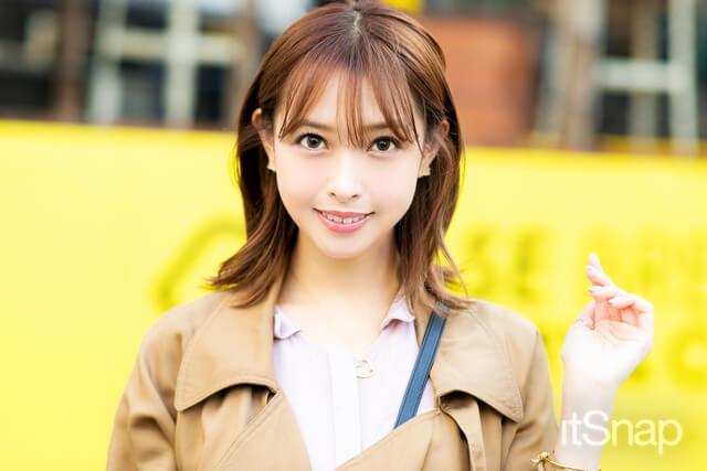 モデル 山内遥サン・24歳