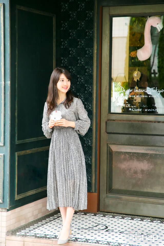 東京大学三年・土居明莉サン/22歳(155cm)