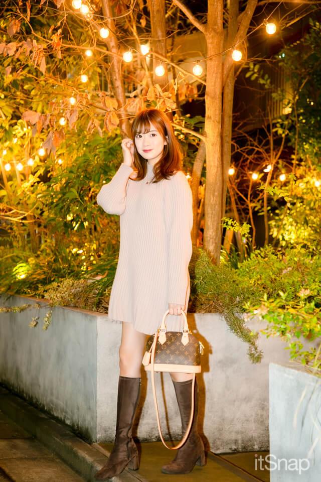 実践女子大学四年・樋口綾奈サン/22歳(163cm)