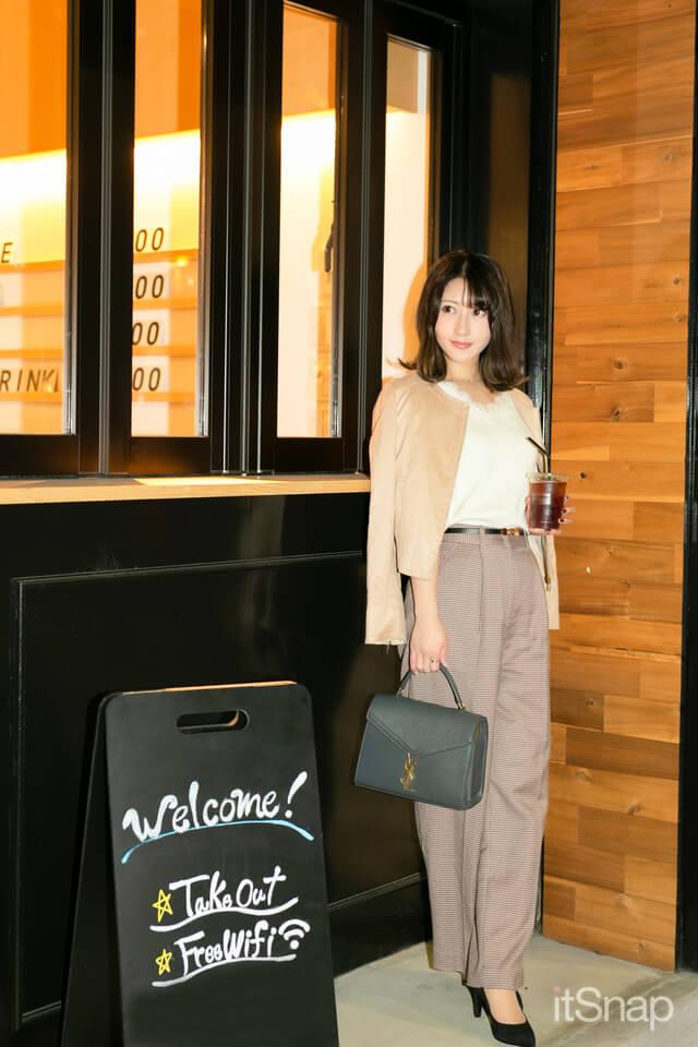 慶應義塾大学四年・浦田直佳サン/23歳(159cm)