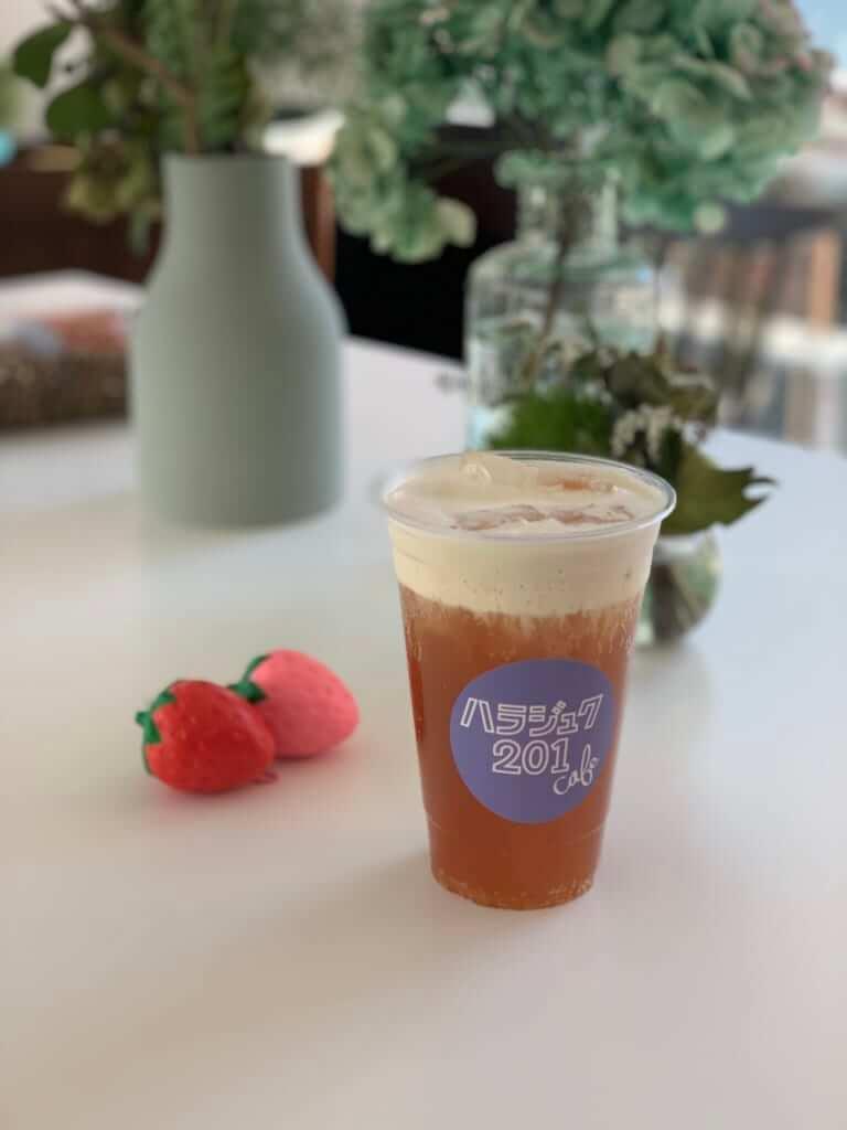 原宿「ハラジュク201cafe」のティービール