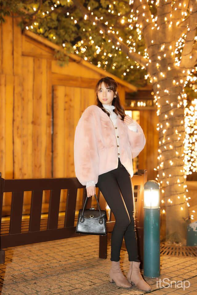 こがわさんが恵比寿ガーデンプレイスのクリスマスイルミネーション