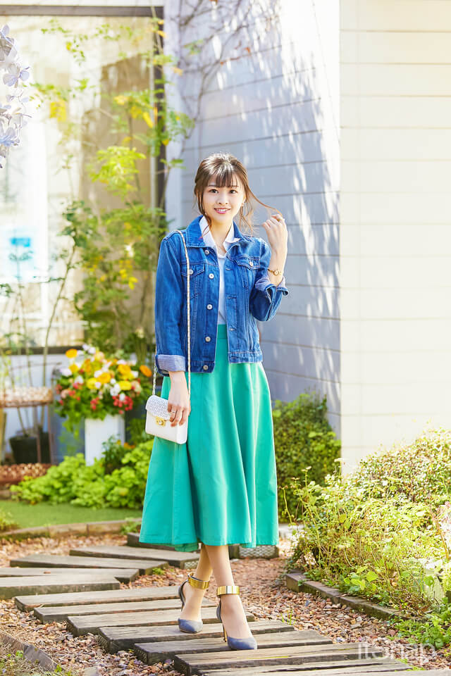 モデル・山口ひばりさん/25歳(158cm)