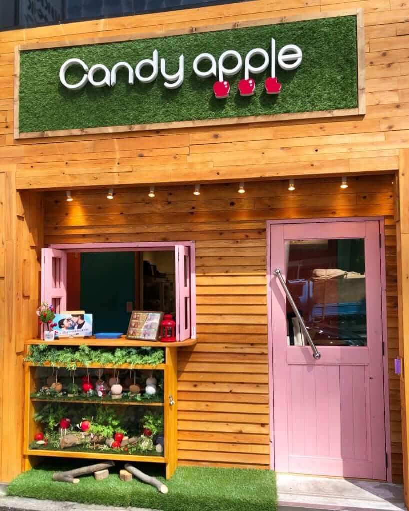 Candy apple(キャンディーアップル)原宿店の外観