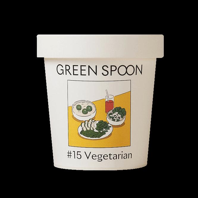 GREEN SPOON(グリーンスプーン)のスムージー♯15 Vegetarian