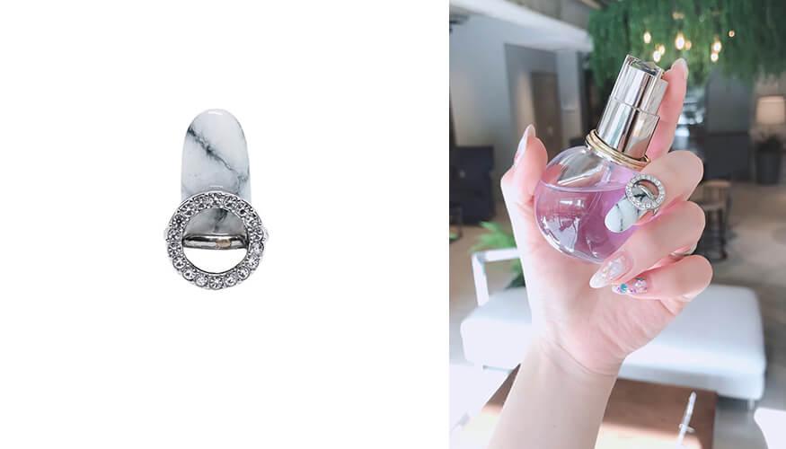 「STAMPNAIL RING(スタンプネイル リング)」人気アイテムのSTAMPNAIL RING 034/¥4,400(税込み)